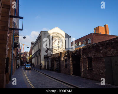 Belfast mural - Stock Image