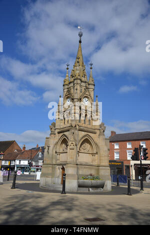 Market Cross, Rother Street, Stratford upon Avon, Warwickshire - Stock Image