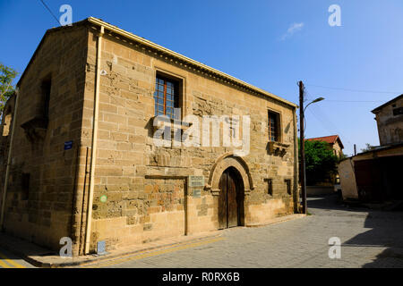The Medieval Lapidary Museum, North Nicosia, Turkish Northern Cyprus October 2018 - Stock Image