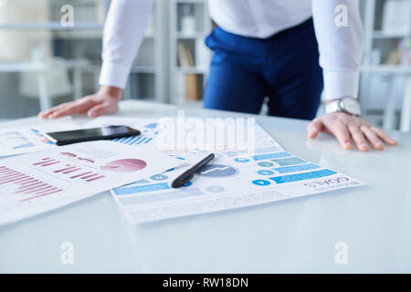 Supplies of economist - Stock Image