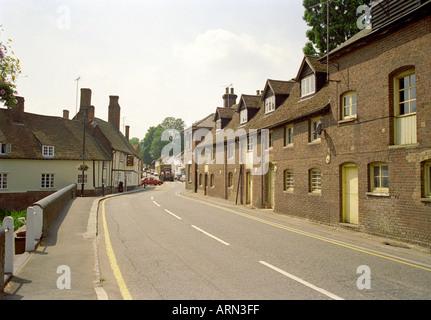 The High Street, Wheathampstead, Hertfordshire, UK - Stock Image