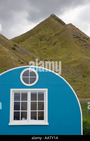 Dwelling at Tora in New Zealand - Stock Image