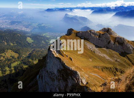 Pilatus Mountain - Stock Image