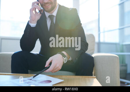 Consulting and analyzing - Stock Image