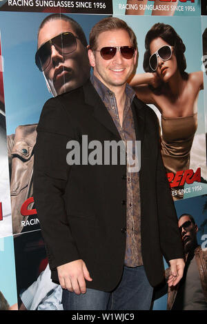New York, USA. 13 March, 2009. Actor, Jason Cameron at the launch of Carrera Vintage Sunglasses at Angel Orensanz Foundation. Credit: Steve Mack/Alamy - Stock Image