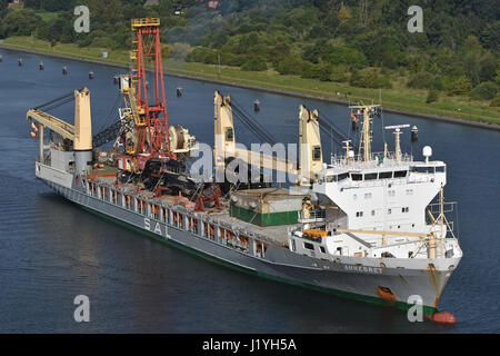 General Cargo Vesel Annegret - Stock Image