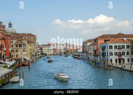Italy, Venice, Grand canal view - Stock Image