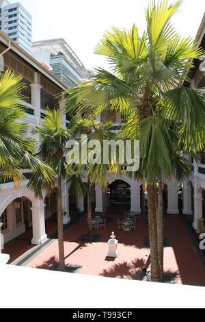 raffles hotel singapore - Stock Image