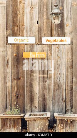 farm stall - Stock Image