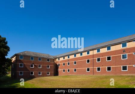 Exterior of the Sir John Moore Barracks Folkestone England. - Stock Image