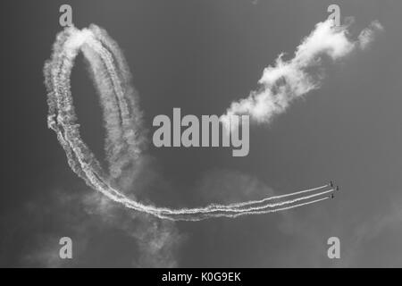 Airbourne, Eastbourne Air Show 2017 - Stock Image