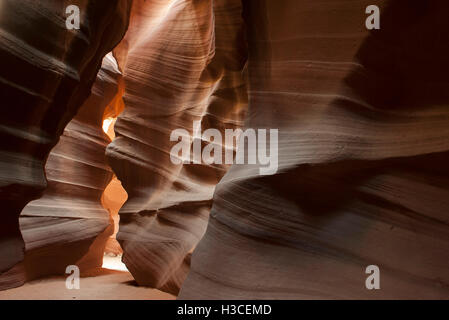 Antelope Canyon, a slot canyon in Arizona, USA - Stock Image