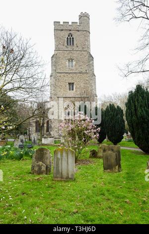 All Saints' parish church, Fulham, London, UK - Stock Image