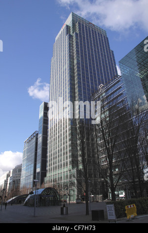 Citigroup building Canary Wharf Docklands London - Stock Image