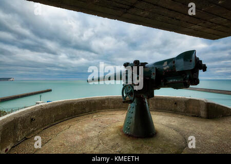 Newhaven Fort - Stock Image