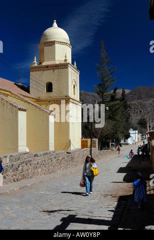 Tilcara, Quebrada de Humahuaca, Province of Jujuy, Argentina, South America - Stock Image