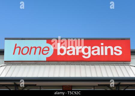 Home Bargains Store, UK - Stock Image