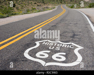 Arizona, Cool Springs, Route 66 - Stock Image