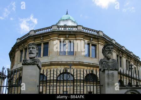 The Sheldonian Theatre, Oxford University, Oxford, Oxfordshire, UK - Stock Image