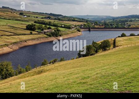 Ponden Reservoir, Haworth, Keighley, West Yorkshire - Stock Image