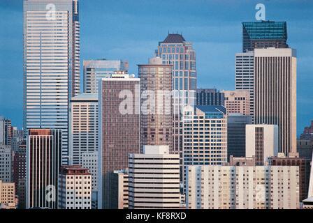 United States Of America Washington Downtown Seattle - Stock Image
