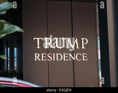 Trump Residence in Istanbul - Stock Image