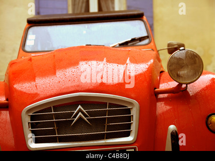 Arles; Bouches du Rhone, France; A Citroen Dolly, today considered one of the symbols of France - Stock Image