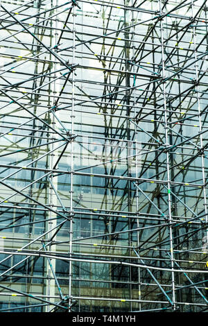 Scaffolding. - Stock Image