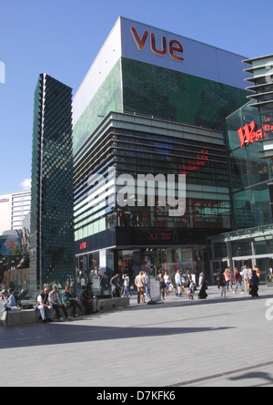 Vue Cinema at Stratford Westfield Shopping Centre London - Stock Image