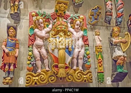 Decoration The Vasa Museum Stockholm Sweden - Stock Image