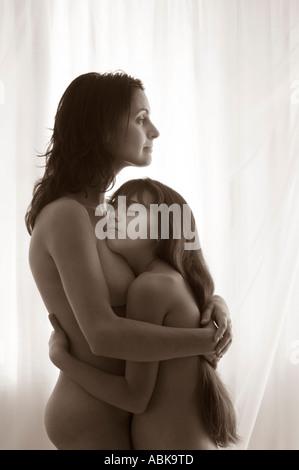 Mom daughter nudist Celebrities' Most