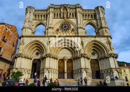 Cuenca Cathedral; Cuenca, Cuenca Province, Spain - Stock Image