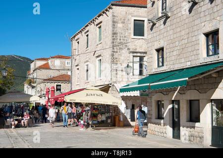 Kroatien, Dalmatien, Halbinsel Peljesac, Veli Ston. - Stock Image