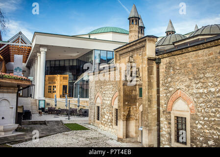 The Hammam in the Gazi Husrev-beg's Mosque, Sarajevo, Bosnia and Herzegovina - Stock Image