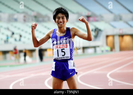 Osaka, Japan. 19th May, 2019. Kazuki Tamura Athletics : The 103rd Japan Track & Field National Championships Men's 10000m Final at Yanmar Stadium Nagai in Osaka, Japan . Credit: Naoki Nishimura/AFLO SPORT/Alamy Live News - Stock Image