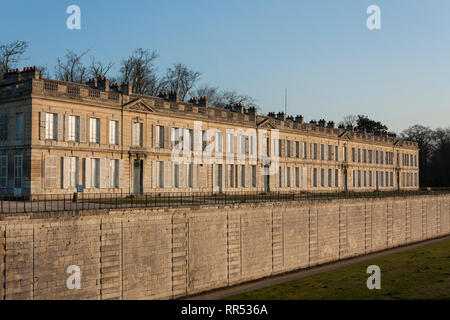 The Château d'Enghien (built 1769) within the grounds of Château de Chantilly, Oise, France - Stock Image