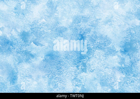 Marble color blue abstract or grunge watercolor paint texture background - Stock Image