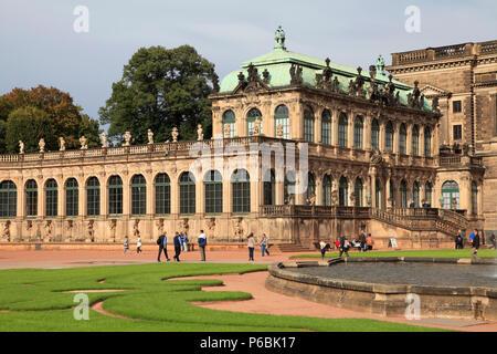 Germany, Saxony, Dresden, Zwinger, - Stock Image