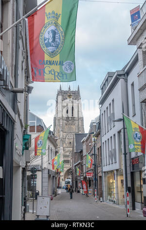 Scenes in Tongeren, Flanders in Belgium - Stock Image