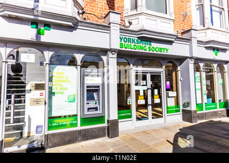 Yorkshire Building Society, Yorkshire Building Society bank, Yorkshire, Building Society, Building Societies, Yorkshire Building Society branch, store - Stock Image