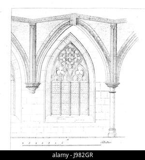 MZK 01 1856 Klosterkirche Neuberg   Tafel a - Stock Image