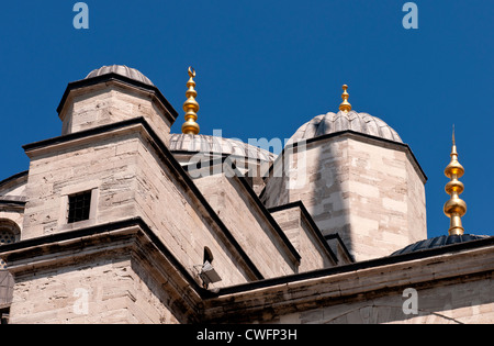 The Blue Mosque, Sultanahmet, Istanbul, Turkey - Stock Image