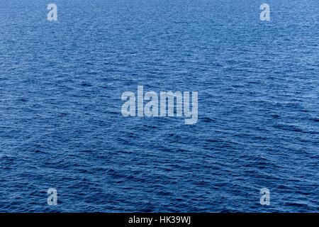 Medierranean sea calm water texture - Stock Image