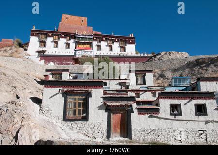 15th-century Pelkhor Chode Monastery, Gyantse, Tibet, China - Stock Image