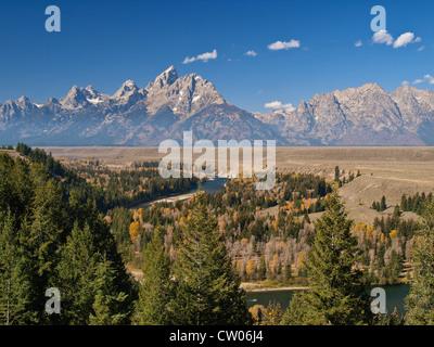 Snake River, Grand Teton National Park, Wyoming - Stock Image