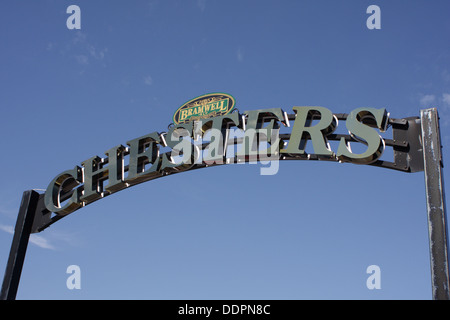 Entrance to the Chesters pub, Sunderland - Stock Image