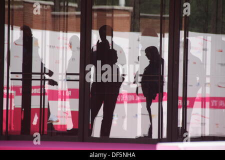 29 September 2013 start of the Roma Fiction Fest at the Auditorium, Rome italy © Gari Wyn Williams/Alamy Live - Stock Image