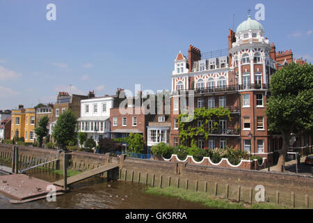 Riverside Hammersmith London - Stock Image