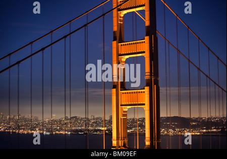 The Golden Gate Bridge - Stock Image