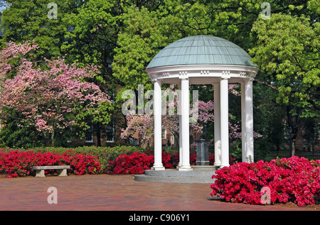 The Old well at the University of North Carolina, in Chapel Hill (UNC). - Stock Image